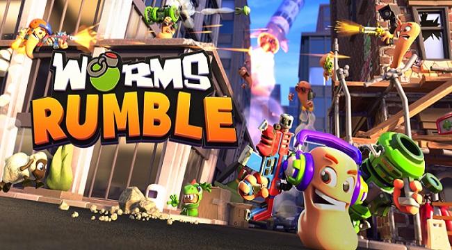 Worms Rumble – Game cổ điển trở lại với thể loại royal battle đa nền tảng