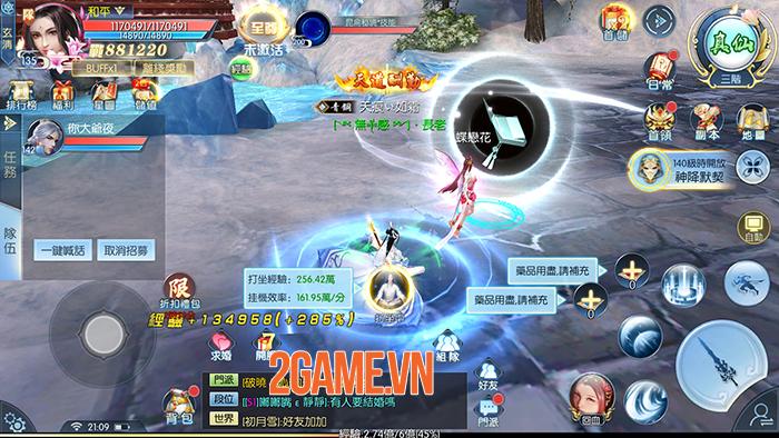 Ảnh Kiếm 3D Mobile - Game nhập vai tiên hiệp đặc sắc về Việt Nam 3