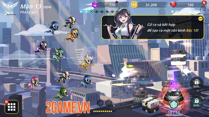 Hero Ball Z vừa có đồ họa bắt mắt lại còn mang lối chơi dễ gây nghiện nữa chứ! 0
