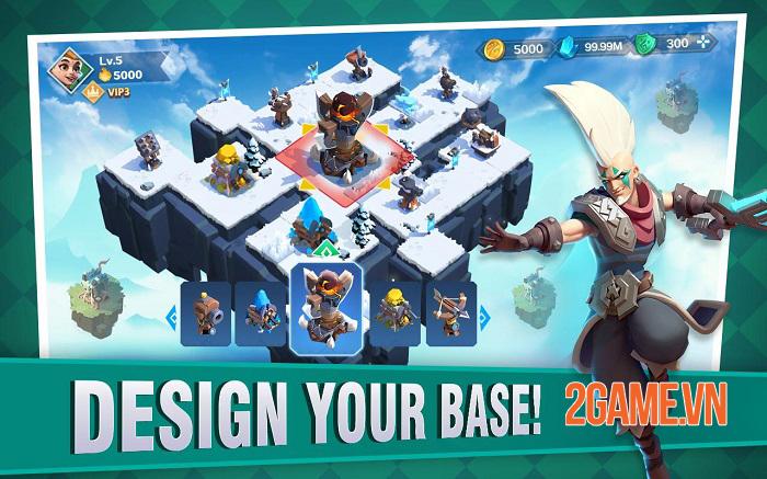 Fortress Isles: Sky War - Game chiến thuật kết hợp nhiều yếu tố thú vị 0