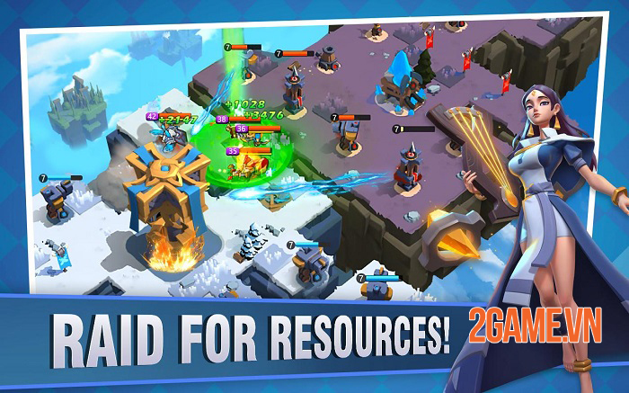 Fortress Isles: Sky War - Game chiến thuật kết hợp nhiều yếu tố thú vị 1