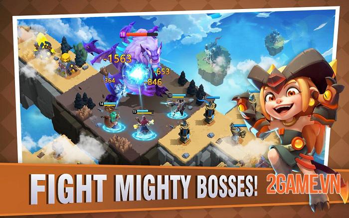 Fortress Isles: Sky War - Game chiến thuật kết hợp nhiều yếu tố thú vị 4