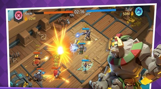 Fortress Isles: Sky War – Game chiến thuật kết hợp nhiều yếu tố thú vị
