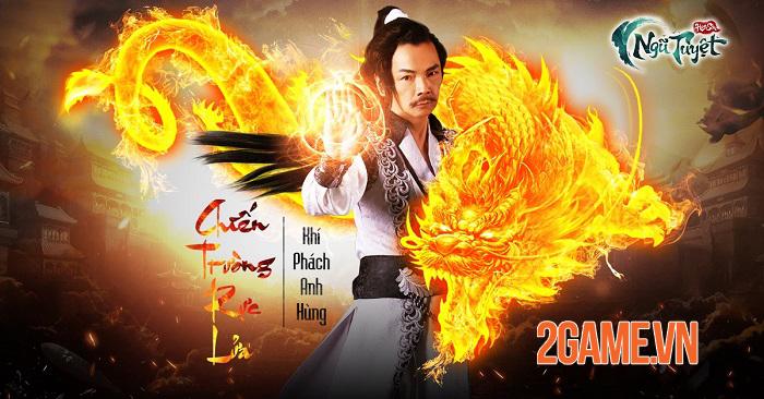 Game đấu tướng Kim Dung - Hoa Sơn Ngũ Tuyệt Funtap định ngày ra mắt 3