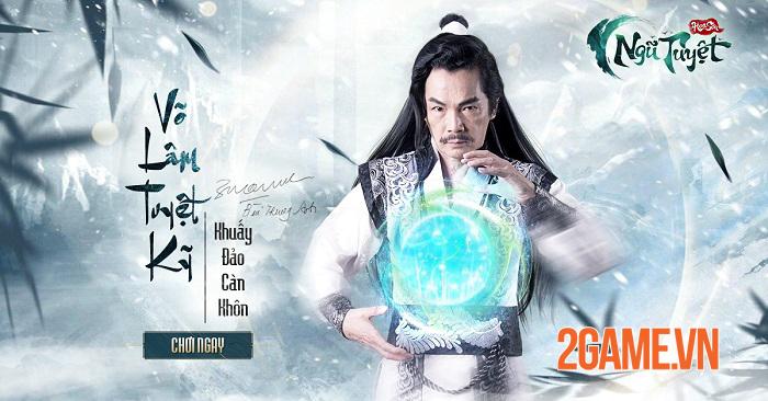 Game đấu tướng Kim Dung - Hoa Sơn Ngũ Tuyệt Funtap định ngày ra mắt 2