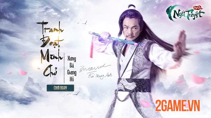 Game đấu tướng Kim Dung - Hoa Sơn Ngũ Tuyệt Funtap định ngày ra mắt 1