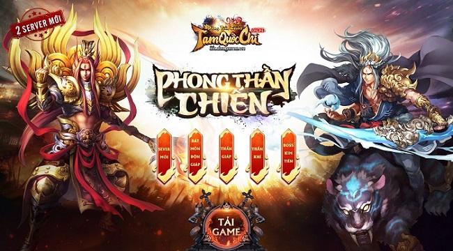 Tam Quốc Chí Online tung ra phiên bản Big Update thứ 16 Phong Thần Chiến