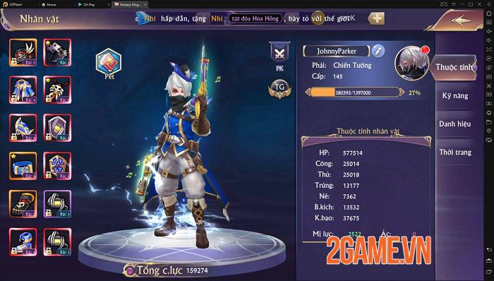 Fantasy Kingdom M giúp game thủ tự tin khoe cá tính, thể hiện bản ngã 4
