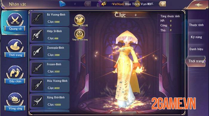 Fantasy Kingdom M giúp game thủ tự tin khoe cá tính, thể hiện bản ngã 3