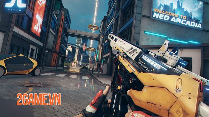 Hyper Scape - Game Battle Royale có lối chơi nhanh và mạnh mẽ 2