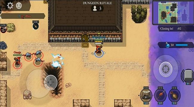 Last Mage Standing – Game Battle Royale io có yếu tố MOBA và thủ tháp