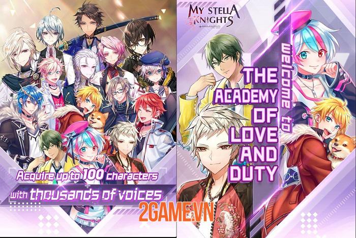 My Stella Knights - Game nhập vai với hàng trăm nhân vật 100% Live 2D 0
