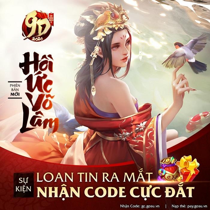 Tặng 200 giftcode game Cửu Dương Truyền Kỳ 0