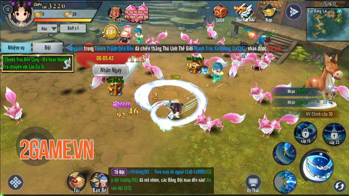 Kiếm Khách Ca Ca đem đến nhiều ngạc nhiên thú vị cho người chơi 2