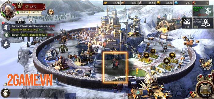 Power of Thrones: Rise and Fall - Game chiến thuật tạo ấn tượng mạnh về thị giác 0