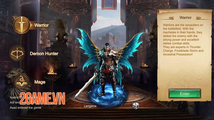 World Of Dark - Game nhập vai thế giới mở với phong cách chơi nhàn rỗi 1