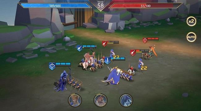 Dance with Dragons: Throne War – Game RTS với 107 giai đoạn PVE khác nhau
