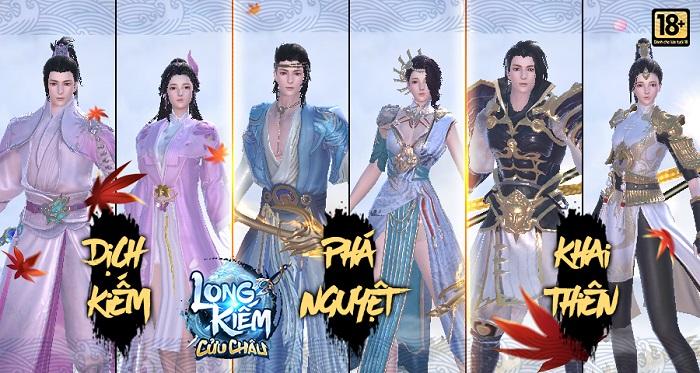 Long Kiếm Cửu Châu - Game tiên hiệp với dàn nhân vật long lanh sắp về Việt Nam 1