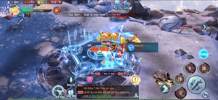 Nhất Kiếm Giang Hồ chính thức khởi tranh giải đấu Cửu Đỉnh Chi Tôn mùa 5 2