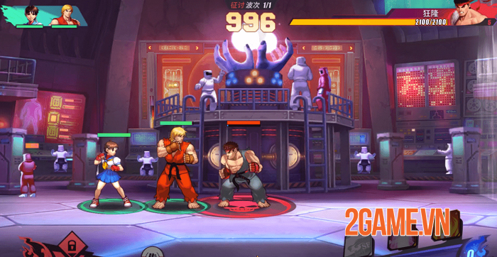 Street Fighter Duel hé lộ gameplay thẻ tướng với cơ chế 3vs3 siêu thú vị 0