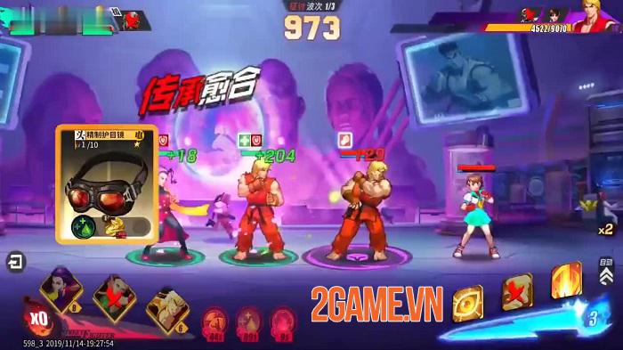 Street Fighter Duel hé lộ gameplay thẻ tướng với cơ chế 3vs3 siêu thú vị 2