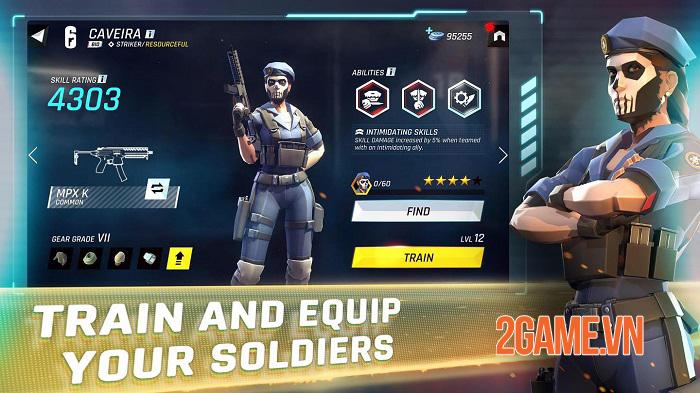 Tom Clancy Elite Squad - Chiêu mộ những đặc vụ tốt nhất từ vũ trụ Tom Clancy 1