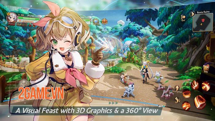 Gaia Odyssey - Game ARPG có gameplay phong phú và hệ thống PVP cổ điển 0