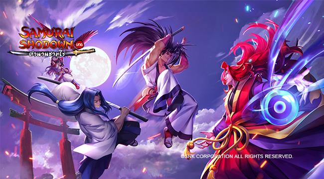 Siêu phẩm Samurai Shodown VNG ra mắt trước tại Thái Lan