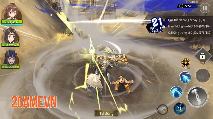 Tam Quốc Vô Song 3D cho người chơi làm chủ hoàn toàn kĩ năng chiến đấu 4