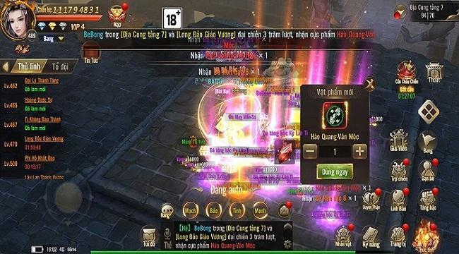 Game thủ Giang Hồ Chi Mộng  có đam mê săn Boss mọi lúc mọi nơi
