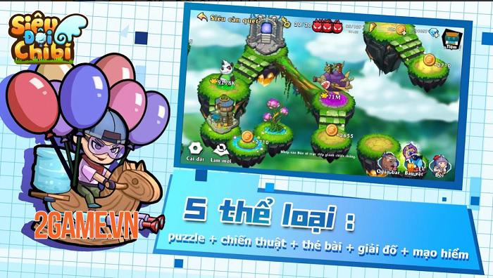 Tựa game mobile độc đáo Siêu Đội Chibi sắp ra mắt tại Việt Nam 0