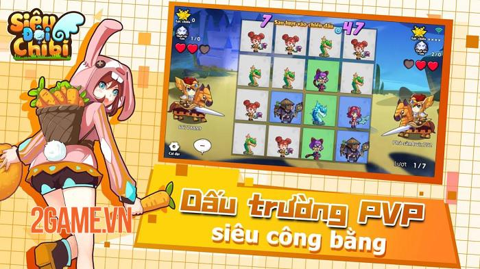 Tựa game mobile độc đáo Siêu Đội Chibi sắp ra mắt tại Việt Nam 2