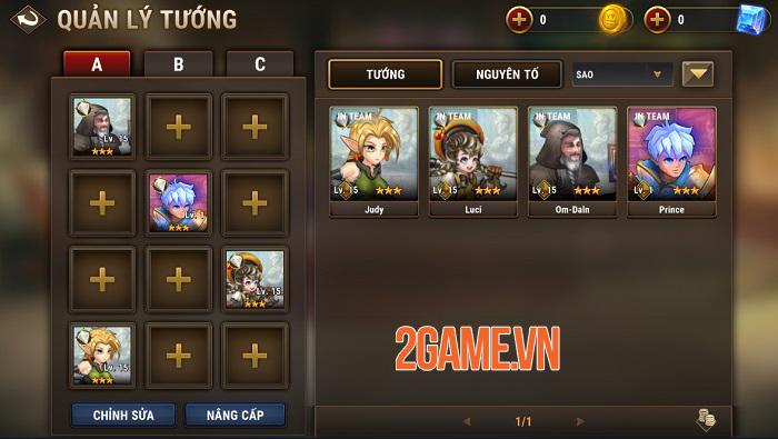 Fantasy League có đồ họa đẹp mắt và lối chơi thẻ tướng xu hướng mở 1
