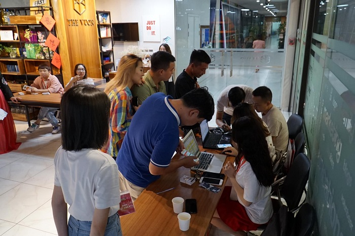 Kiếm Ma 3D ghi điểm trong mắt game thủ sau offline thành công tại Hà Nội 4