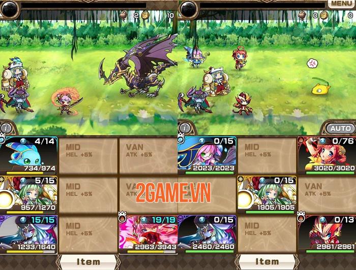 Astral Stairways có tất cả các nhân vật trong vũ trụ trò chơi của FireDog Studio 1