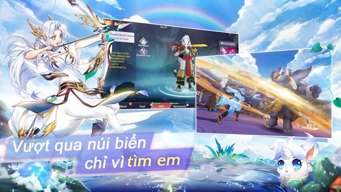 Game phiêu lưu mạo hiểm Goddess MUA chính thức mở cửa 2