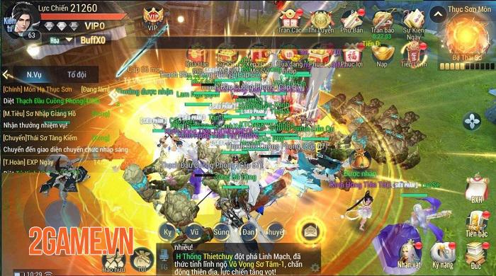 Game Võ Lâm mộng cảnh Kiếm Hiệp Tình 3D chính thức ra mắt hôm nay 2