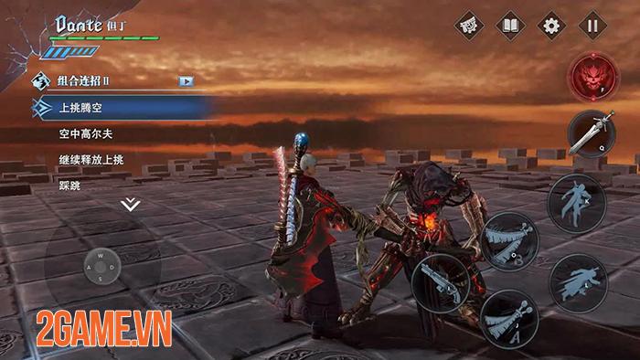 Devil May Cry Mobile dần hoàn thiện sau 2 đợt Closed Beta 2