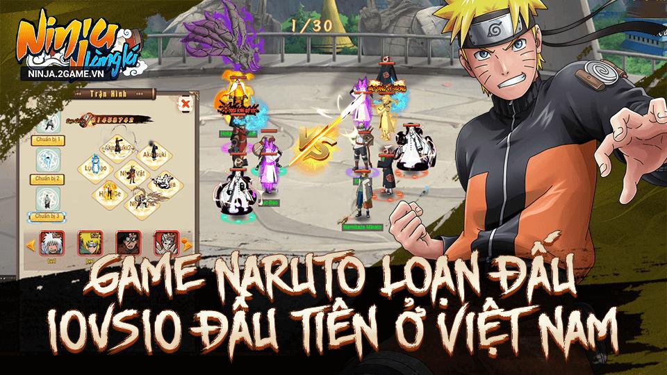 Game đấu tướng Ninja Làng Lá Mobile cập bến Việt Nam 0