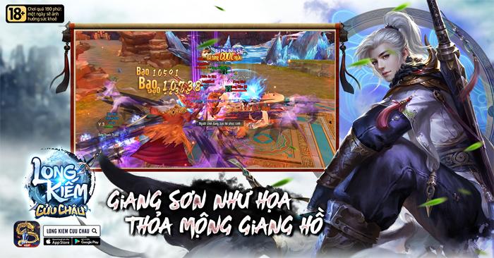 Game thủ Việt đã có thể tải Long Kiếm Cửu Châu Mobile về máy 2