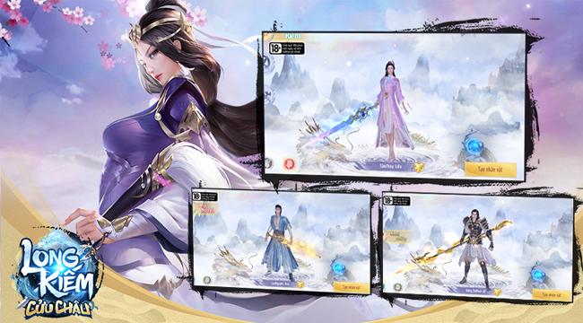 Game thủ Việt đã có thể tải Long Kiếm Cửu Châu Mobile về máy
