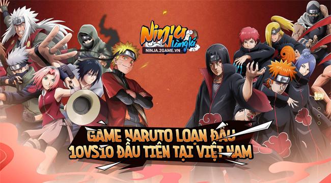 Game đấu tướng Ninja Làng Lá Mobile cập bến Việt Nam