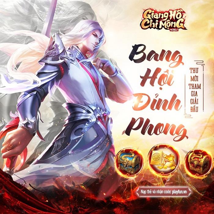 Giang Hồ Chi Mộng quy tụ hàng loạt cao thủ tranh tài giải Bá Chủ Võ Lâm 0