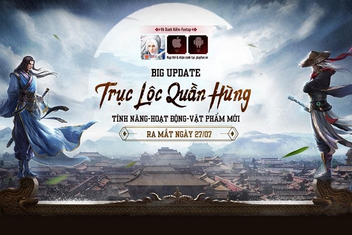 Vô Danh Kiếm Update thêm nhiều tính năng siêu Việt cho game thủ 0
