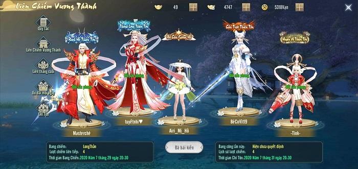 Vô Danh Kiếm Update thêm nhiều tính năng siêu Việt cho game thủ 1