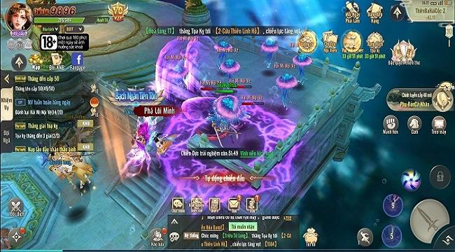 Game Long Kiếm Cửu Châu có đồ họa rực rỡ, chất chơi nhập vai tiên hiệp kinh điển