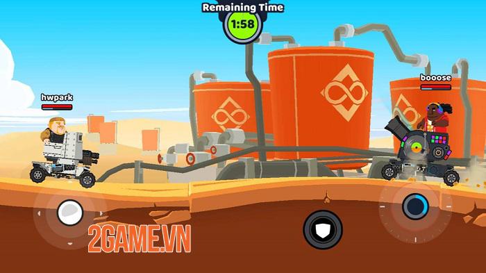 Super Tank Blitz - Game hành động cho phép tự thiết kế xe tăng 0