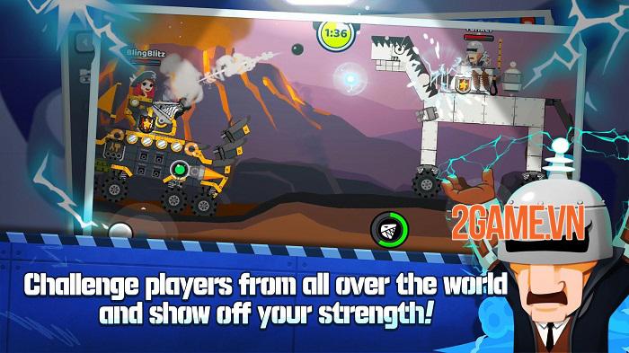 Super Tank Blitz - Game hành động cho phép tự thiết kế xe tăng 1