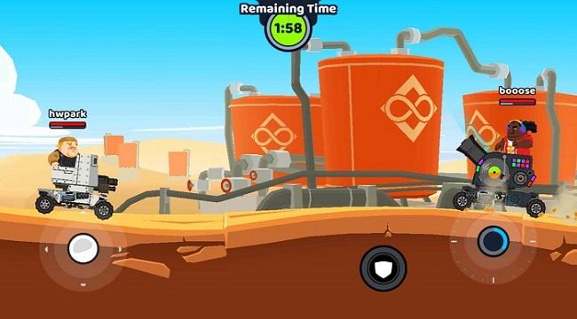 Super Tank Blitz – Game hành động cho phép tự thiết kế xe tăng