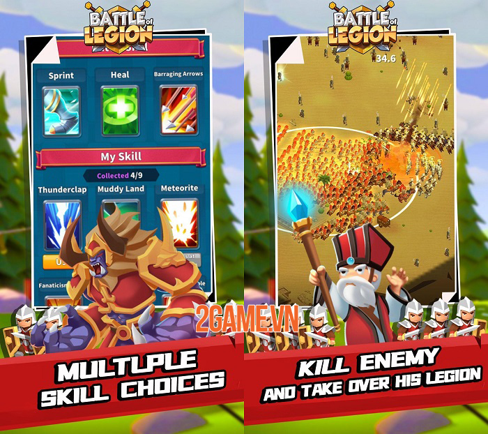 Battle of legion có lối chơi đơn giản, độc đáo và vô cùng thú vị 2